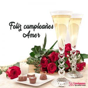 imágenes de cumpleaños con rosas