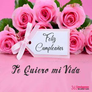 imágenes de feliz cumpleaños con rosas