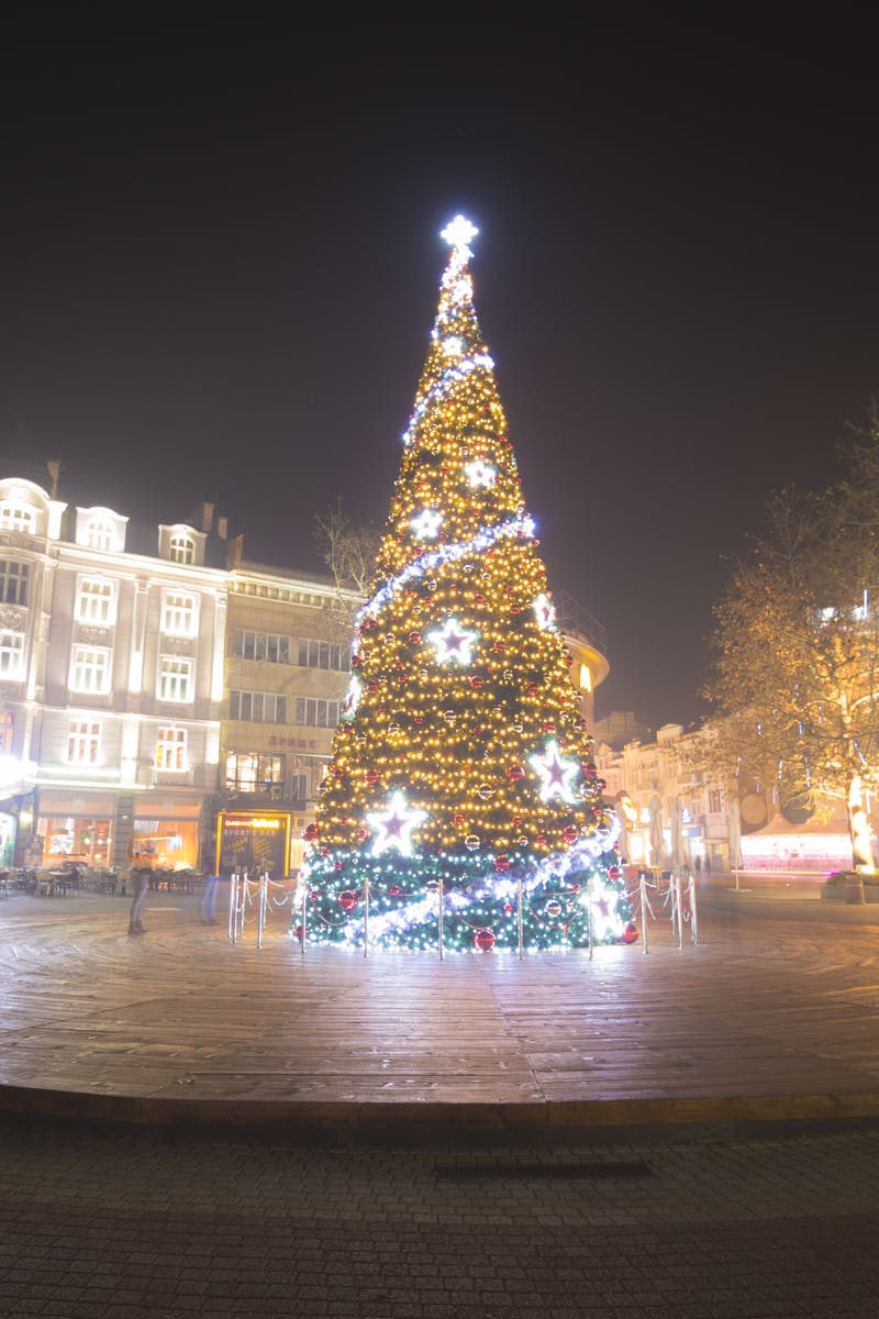 foto de navidad en Bulgaria