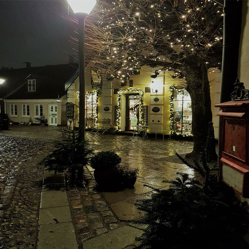 fotos de Dinamarca en navidad