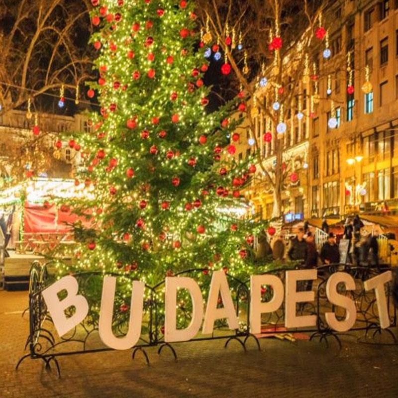 fotos de navidad de Budapest