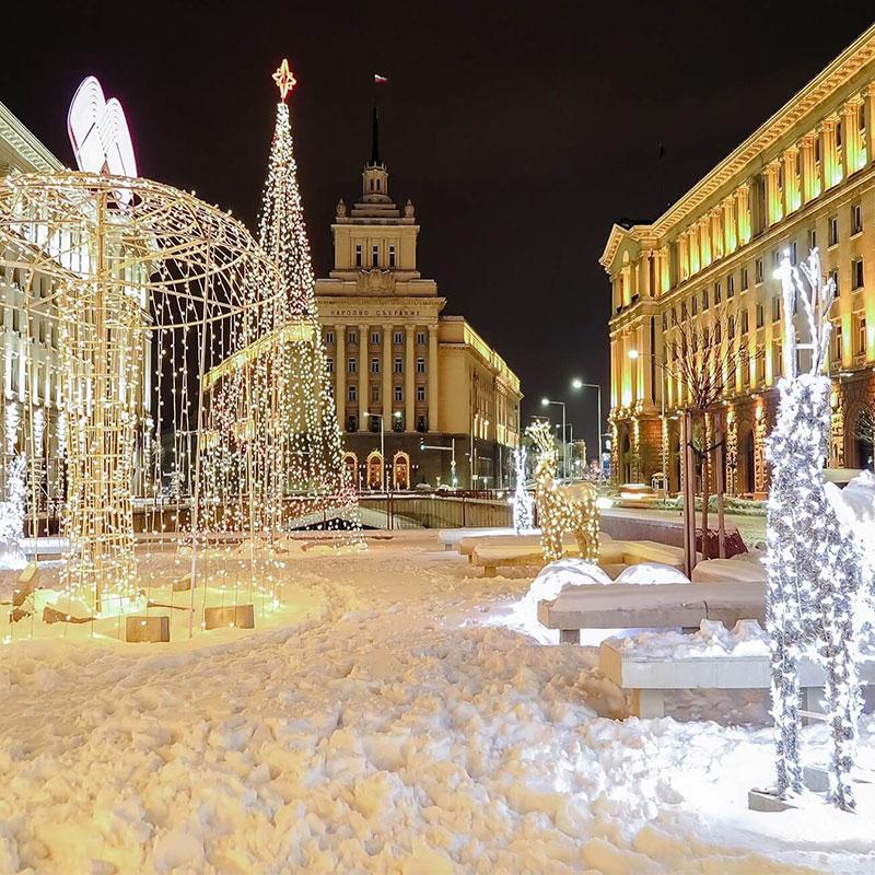 fotos de navidad de Bulgaria