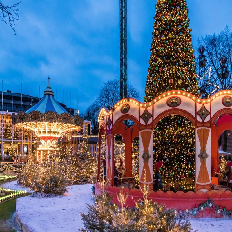 imágenes de Copenhague en navidad