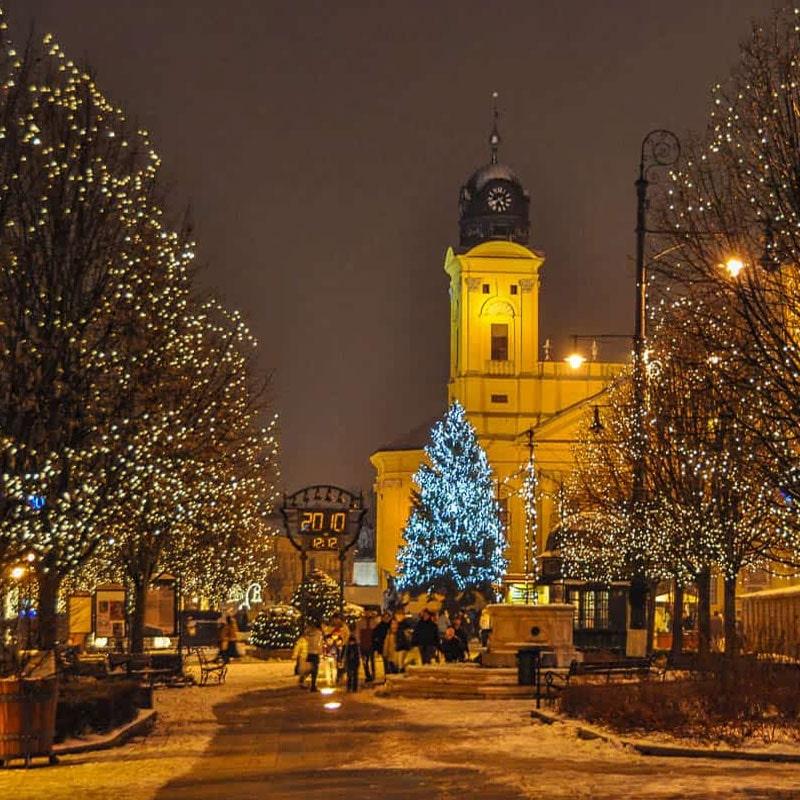 imagenes de navidad de Budapest