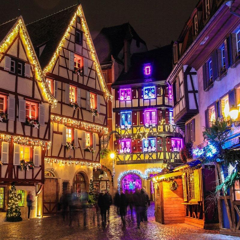 imagenes de navidad de Colmar Alsacia