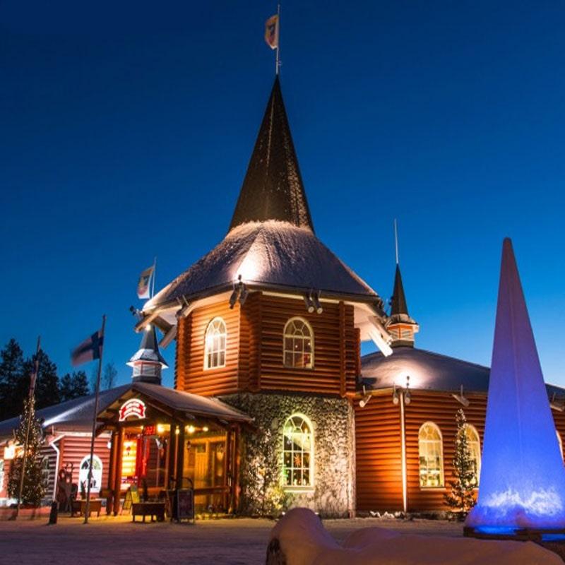 imagenes de navidad del pueblo de santa claus