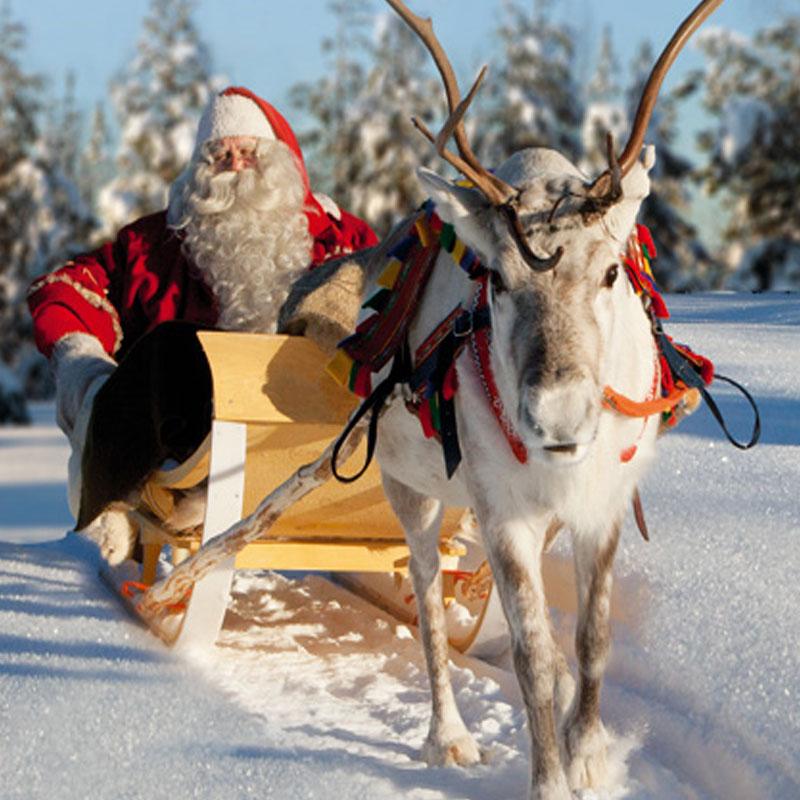 imagenes de santa claus en finlandia