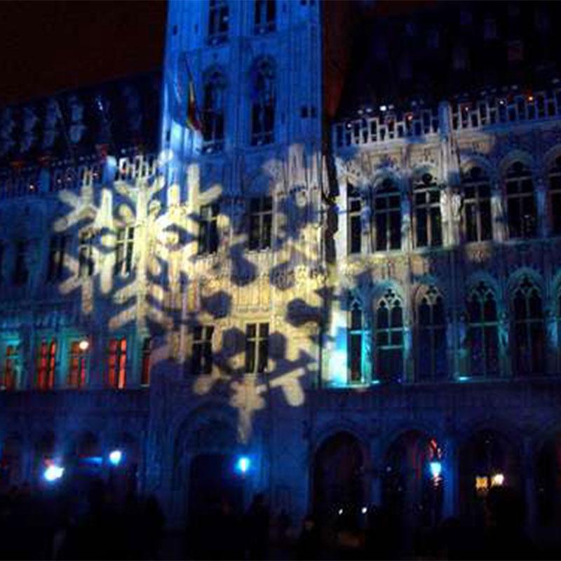 Luces de navidad en Belgica
