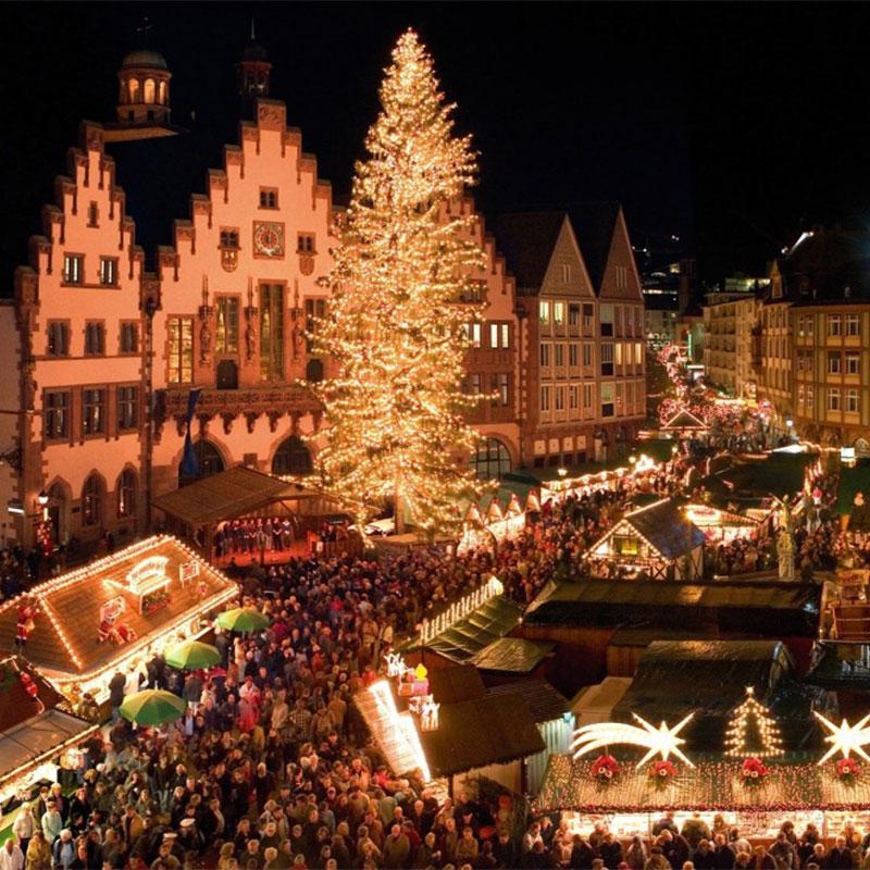 Mercado de navidad de Belgica