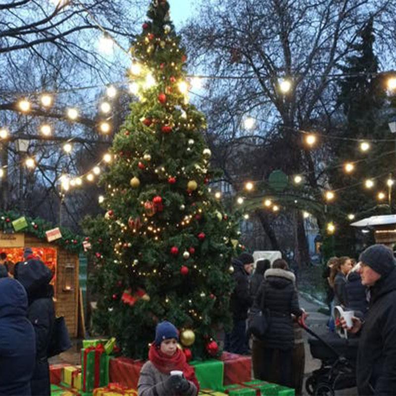 mercado de navidad de Bulgaria