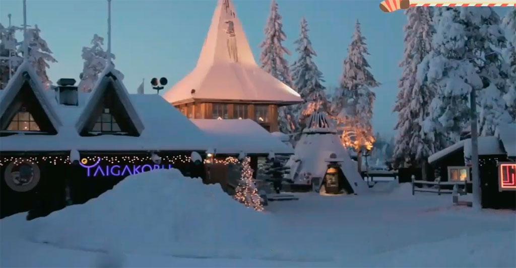 navidades en finlandia