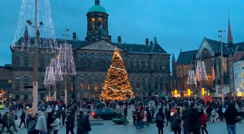 imagenes de navidad en amsterdan