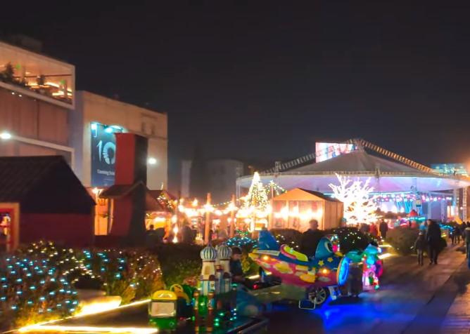 mercado navideño en georgia
