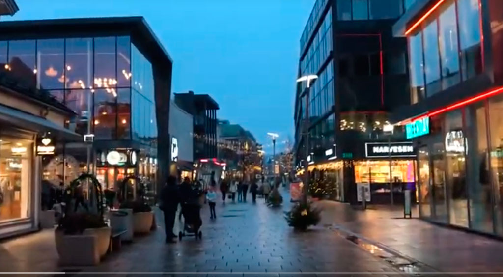 noruega en navidad mercadillos