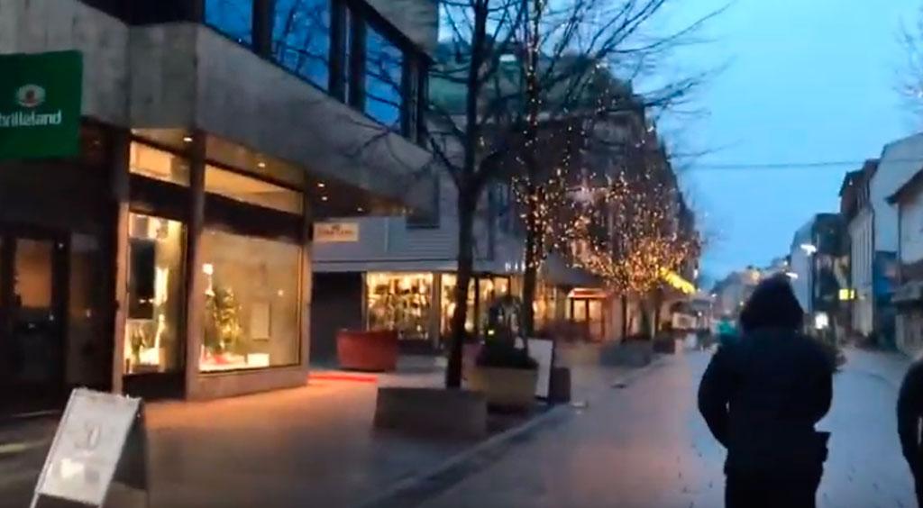 paseando por noruega en navidad