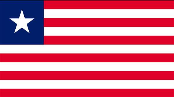 bandera de liberia